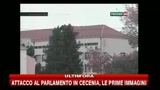 Attacco al Parlamento in Cecenia, le prime immagini