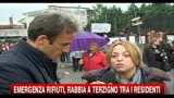 19/10/2010 - Emergenza rifiuti, rabbia a Terzigno tra i residenti