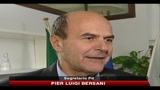 Lodo Alfano, Bersani: barricate in parlamento, poi referendum