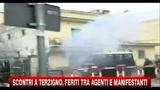 Scontri Terzigno, feriti tra agenti e manifestanti