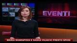 22/10/2010 - Maria Sharapova e Sasha Vujacic presto sposi