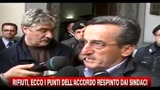 25/10/2010 - Rifiuti, ecco i punti dell'accordo respinto dai sindaci