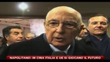 25/10/2010 - Napolitano: in Cina Italia e UE si giocano il futuro