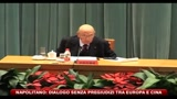 26/10/2010 - Napolitano: dialogo senza pregiudizi tra Europa e Cina