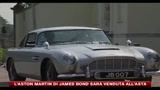 L'Aston Martin di James Bond sar venduta all'asta