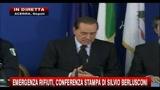 28/10/2010 - Berlusconi: A Napoli fra 3 giorni non ci saranno più rifiuti