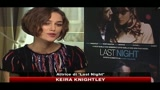 Keira Knightley: è un onore inaugurare festival di Roma