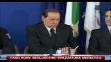 28/10/2010 - Caso Ruby, Berlusconi: spazzatura mediatica
