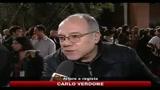 Protesta festival cinema Roma, parlano gli attori Verdone e Ghini