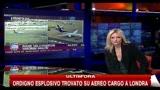 29/10/2010 - Usa, ordigno esplosivo trovato su aereo