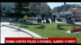 31/10/2010 - Bomba contro polizia a Istanbul: le prime immagini