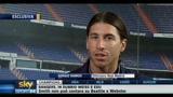 02/11/2010 - Milan-Real Madrid, parla Sergio Ramos