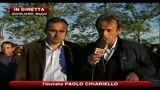 03/11/2010 - Rifiuti, scontri a Taverna del Re: feriti 4 manifestanti