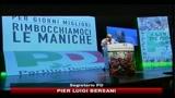 PD, Bersani: Berlusconi non può governare