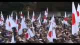 06/11/2010 - Tokyo, migliaia di cittadini e attivisti protestano contro la Cina