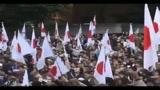 Tokyo, migliaia di cittadini e attivisti protestano contro la Cina