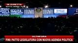 14 - Fini: non si è fatto ancora nulla per le riforme