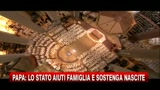 07/11/2010 - Papa: lo stato aiuti la famiglia e sostenga le nascite