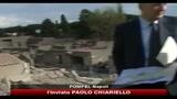Casa gladiatori Pompei, crollo causato non solo dalla pioggia