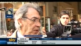 Moratti: la situazione  difficile