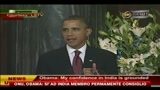 ONU, Obama: sì ad India membro permamnente del consiglio