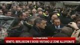 09/11/2010 - Berlusconi e Bossi visitano le zone alluvionate