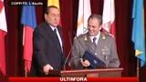 Berlusconi in Abruzzo : Io, primo contribuente italiano