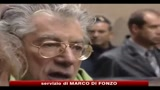 10/11/2010 - Bossi: vedo spiraglio, domani incontro Fini