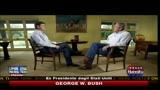 George W. Bush intervistato da Fox News