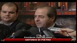 Di Pietro: prima sfiduciamo Berlusconi meglio è