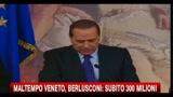 Maltempo Veneto, Berlusconi- subito 300 milioni