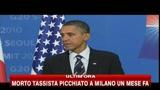 G20, le parole di Obama