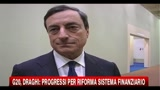 G20, Draghi: progressi per riforma sistema finanziario
