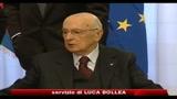 Manovra, Napolitano: mai detto no a tagli, chiedo scelte