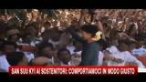 San Suu Kyi ai sostenitori: comportiamoci in modo giusto