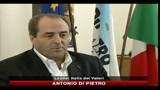 Di Pietro: Berlusconi tira a campare, verficare maggioranza