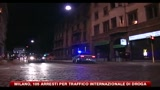 Milano, 105 arresti per traffico internazionale di droga