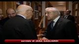 Napolitano: spero politica non perturbata fino a 2013