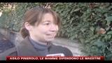 Asilo Pinerolo, le mamme difendono le maestre