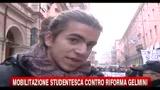 Mobilitazione studentesca contro riforma Gelmini: Bologna