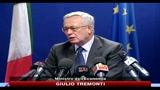 Tremonti: l'Italia non un problema, ma parte della soluzione