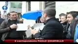 Cattura Iovine, Maroni e Alfano in questura a Napoli