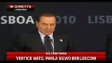 20/11/2010 - Vertice Nato, parla Silvio Berlusconi