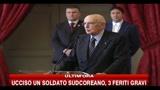 Napolitano: il terremoto nell'Irpinia fu un 11 settembre per il Sud Italia