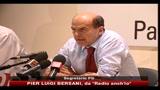 Bersani: se un governo non è in condizione di governare deve dichiarare la crisi
