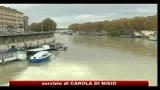 Roma, maltempo: allarme rientrato per il fiume Tevere