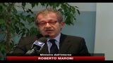 Maroni: la crisi di governo non fermer il federalismo