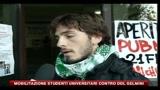 Mobilitazione studenti universitari contro DDL Gelmini