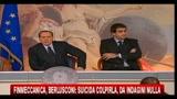 Finmeccanica, Berlusconi- suicida colpirla, da indagini nulla
