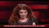 26/11/2010 - La Sapienza, ricercatori sul tetto contro riforma universitaria